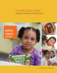 Image First Eight Years Report Cover
